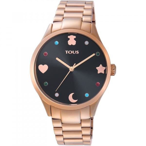 Foto de RELOJ TOUS SUPER POWER DE ACERO IP ROSADO 800350720