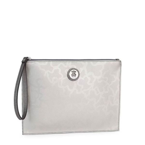 Foto de CLUTCH TOUS KAOS SHINY COLOR PLATA 595890384